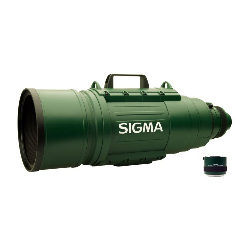 Sigma 200-500 mm F2,8 EX DG-Objektiv (72 mm Filterschublade) für Nikon Objektivbajonett