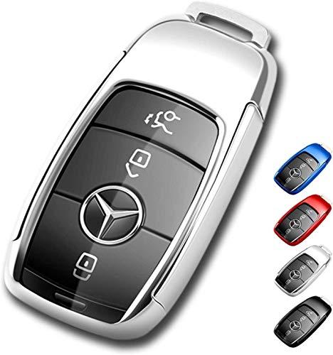 2018 su Mercedes Benz Nuova Classe S Smart Remote Fob Cover Nero TOMALL Porta Chiave per il 2016 su Mercedes Benz Nuova Classe E