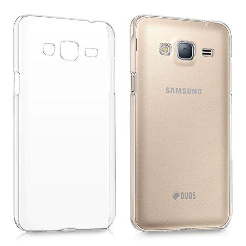kwmobile Hülle kompatibel mit Samsung Galaxy J3 (2016) DUOS - Handyhülle - Handy Hülle in Transparent
