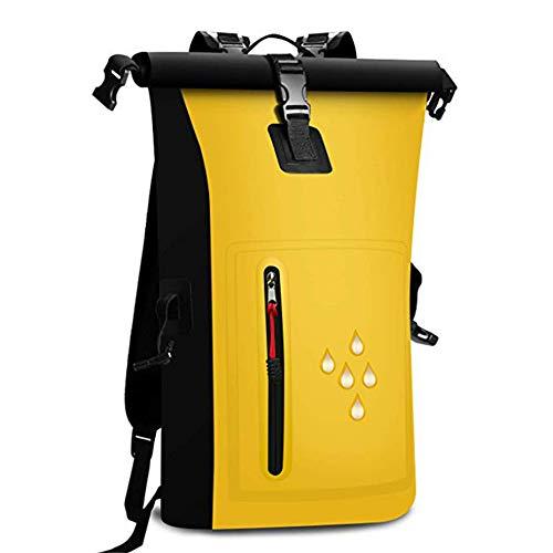 ZFW wasserdichte Eimer Tasche Falten Schwimmen Rucksack Packsäcke Outdoor-Sportarten Wandern Rafting Wasserdichtes Gewebe Outdoor-Produkt