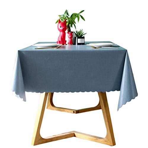 Abwaschbar Tischdecke Wasserdicht Tischtuch Tischwäsche Garten Zimmer Tischdekoration Stil2 140 * 140CM