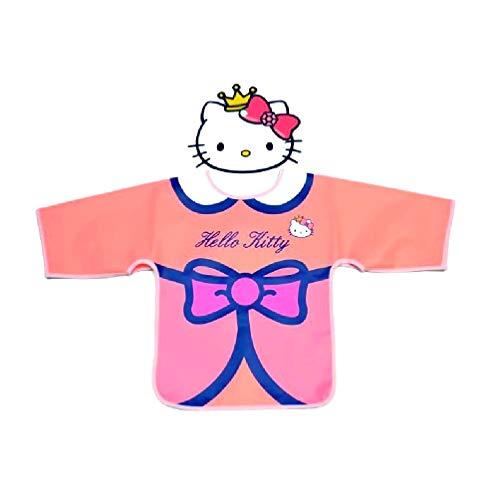 takestop® Schort met mouwen 37x28x1cm activiteit school keuken Cibo jurk cartoon kinderen meisjes