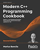 Modern C++ Programming Cookbook, 2nd Edition Front Cover