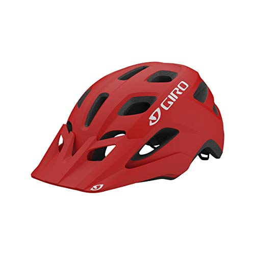 Giro Men's Fixture Mips Helmet, Matte Trim Red, 54/62