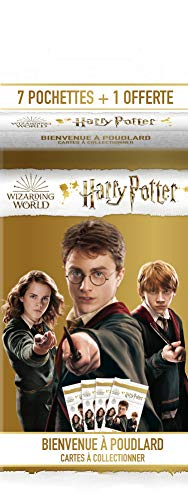 Panini France SA-Harry Potter TC Bienvenue à Poudlard Blister 7 Pochettes + 1 Offerte, 004220KBF8