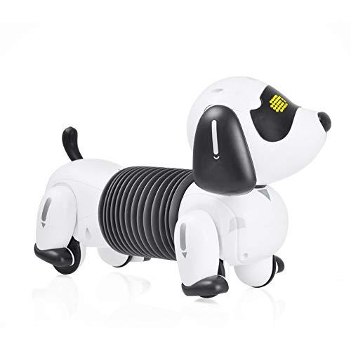 iBaste Elektronischer Intelligenter Hund Spielzeug - Smart Robot Hundespielzeug Interaktives Wiederaufladbares Roboter-Welpenspielzeug
