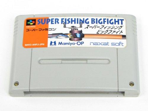 Super Pesca Grande Luta bigfight Ref/CCC Super Famicom Nintendo