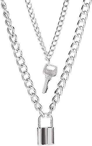Liuqingzhou Co.,ltd Collarcolgante Simple, Collar de Hoja, Collar de Cadena Larga, joyería, Gargantilla, Collar para Mujer, Gargantilla de Hoja