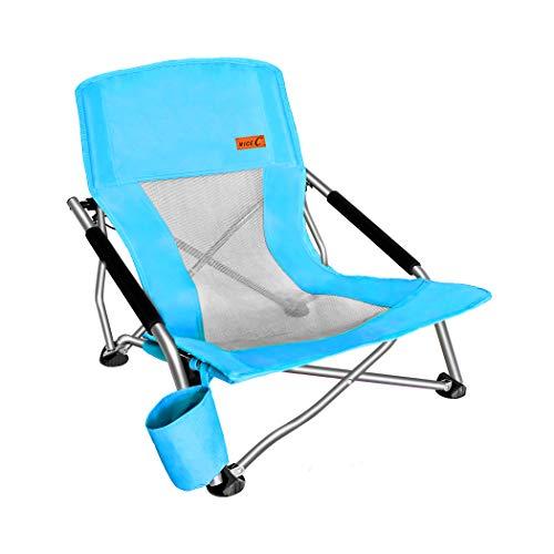 Nice C Low Beach Camping Folding Chair, Ultralight...