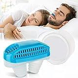 Dispositivos antirronquidos Tapón de ventilación nasal, Dispositivos antirronquidos Purificador de aire antirronquidos 2 en 1, Tapón de ronquidos para la apnea del sueño Detener el ronquido