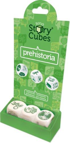 Asmodée - Story Cubes prehistoria, Juego de Dados, para 1 o más Jugadores (STO13AS)