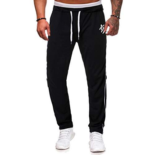 Memefood Jogging para Hombre Pants Pantalones Deportivos Hombres Joggers Largos Pantalones de...