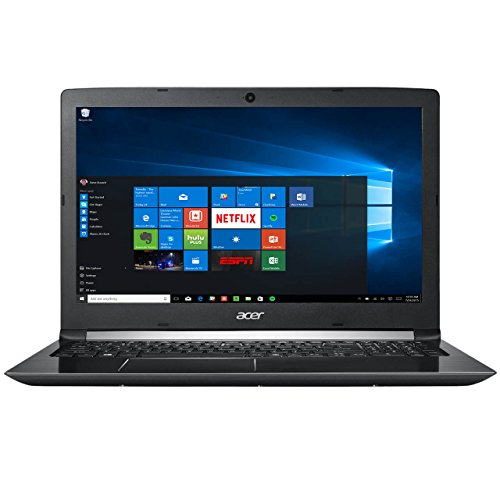 Acer Aspire 5 15.6' FHD 1080 i7-7500U 8GB RAM 1TB HDD Windows 10, Obsidian Black, A515-51-75UY