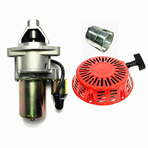 POWER PRODUCTS Electric Recoil Starter for Harbor Predator 13HP 420cc 60340 60349 69736 Engine