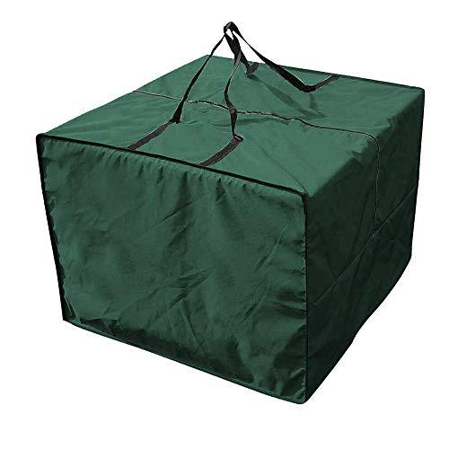 N/A 210D Oxford Storage Bag, Tarpaulin Garden Furniture, Waterproof Lounge Cushion, Storage Bag, Outdoor Christmas Square Furniture Mat, Storage Bag (81 x 81 x 61 cm)