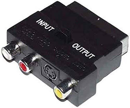 Pepe Jeans e+p VC 915 Adaptador de Cable SCART 3 x RCA, S-