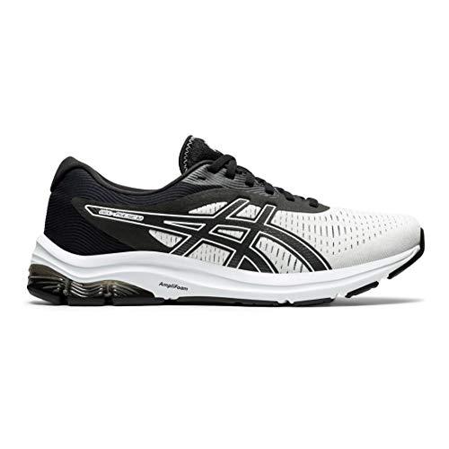 ASICS Gel-Pulse 12 - Zapatillas de running para hombre, blanco (Blanco/Negro), 44.5 EU
