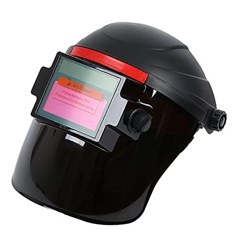 LOVIVER 1 Pza Máscara de Soldadura de visión grande ajuste de tamaño protección de ojos para moler MIG TIG soldadura