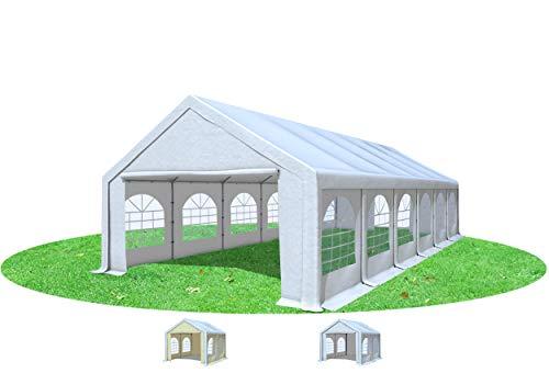 Stabilezelte Partyzelt 5x12m Modular Professional PVC 500 g/m² mit Fenster Weiss