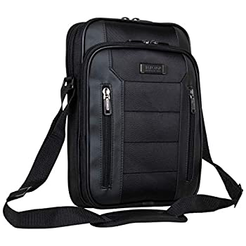 Kenneth Cole Reaction Keystone 1680d Polyester Single Compartment 12  Laptop/Tablet Case Black