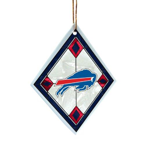 NFL Buffalo Bills Art Glass Ornament