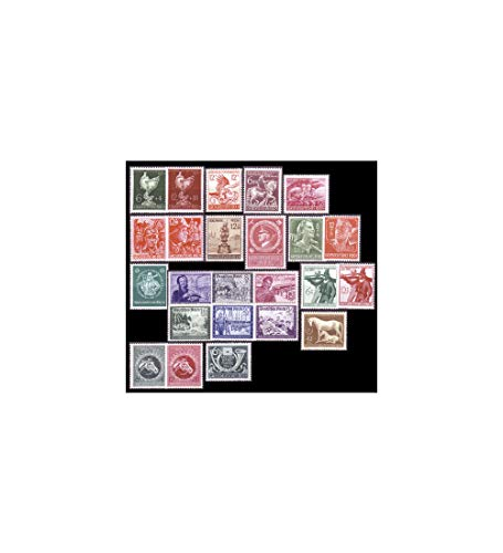 Goldhahn Deutsches Reich Nr. 886-910 postfrisch ** Die letzten 24 Werte - Briefmarken für Sammler