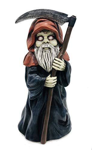 FICITI Garden gnome Reaper Statue - Evil...