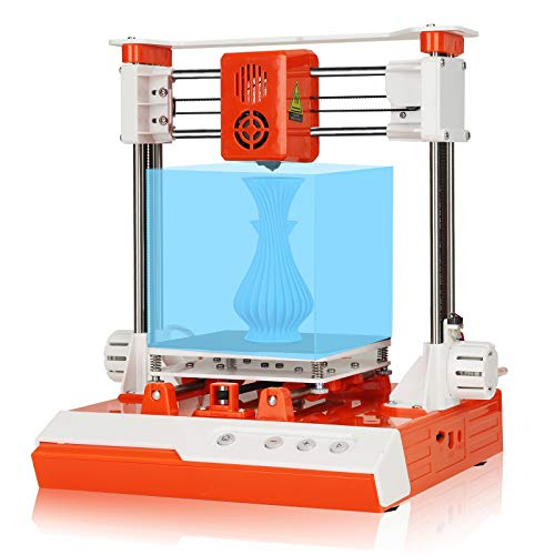 Mini 3D Printer for Beginners, Printing Size 100×100×100 Fast Printing, Including Heated Floor, Lower Noise Suitable for Printing DIY Crafts, Models