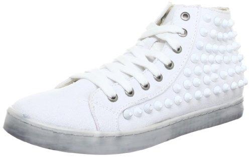 Colors of california HC.SKECH6, High-Top Femme - Blanc - Weiß (Bianco WHI), 38 EU