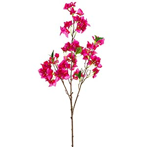 41.5″ Silk Bougainvillea Flower Stem -Orchid (Pack of 12)