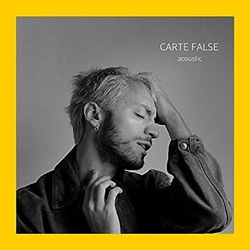 Carte false (Acoustic)