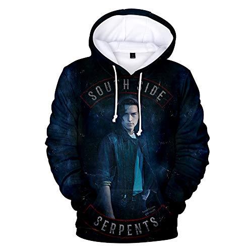 Riverdale - Southside Serpents - Sudaderas con capucha, coloridas, parte de arriba de chándal, suéter, para mujeres y hombres
