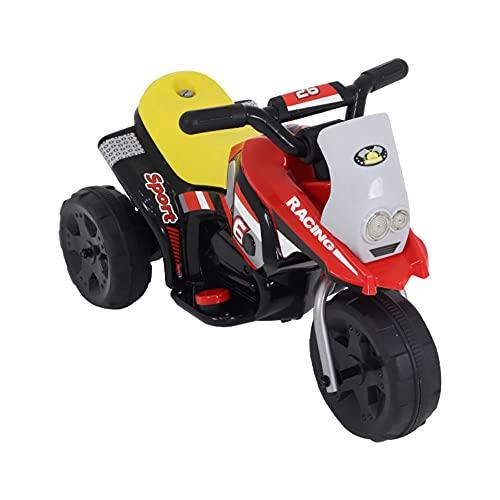 Triciclo Elet. G204 Infantil - Vm - 6v Bel Fix Vermelho 913500