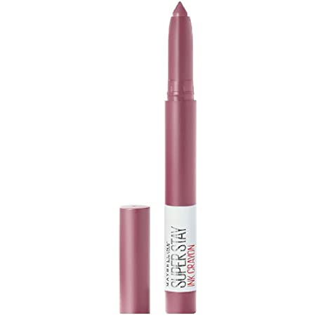 Maybelline New York Super Stay Crayon Lipstick, 25 Stay Exceptional, 1.2g