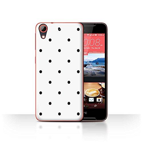Stuff4® Hülle/Hülle für HTC Desire 628 / Kleine Polka Muster/Skandinavische Mode Kollektion