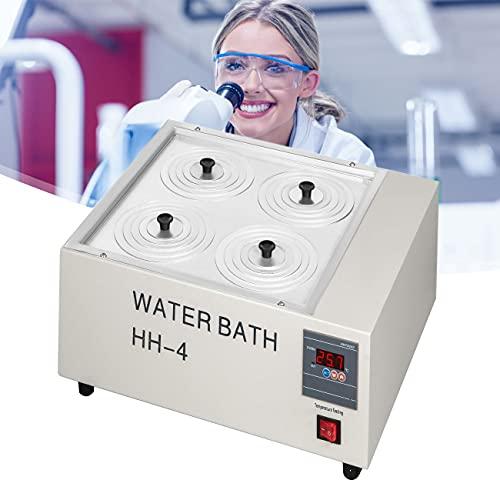 ZhiLianZhao Baño De Agua De Laboratorio, Baño Agua Laboratorio De Agua, con Aberturas Seleccionables, para Destilación y Secado Precisión Biológica