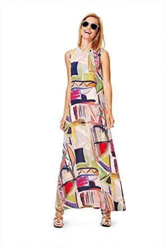 Burda 6628 Schnittmuster Maxi-Kleid Kleid mit Spitze (Damen, Gr. 34-44)