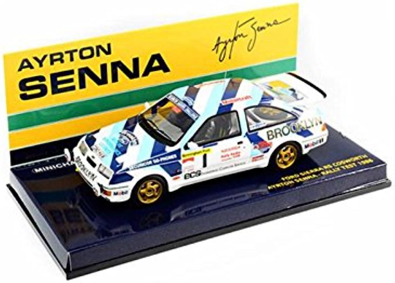 vendiendo bien en todo el mundo Minichamps 540864399 - Modelos de de de réplica para Ford Sierra RS Cosworth Ayrton Senna (Escala 1 43)  mejor moda