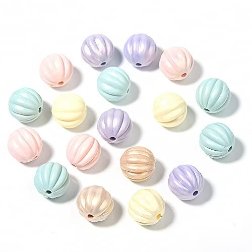 Surtidos de Abalorios 400pcs 10mm Abalorios Artesanales Coloridas Pequeñas Abalorio de Acrílico Perlas de Plástico para la Fabricación de Joyas, Decoración del Hogar, Pulsera para Niños, Collar (gris)