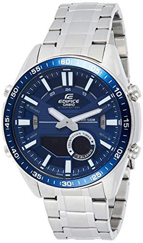 Casio Edifice Bluetooth Connect Analog-Digital Blue Dial Men's Watch EFV-C100D-2AVDF(EX440)