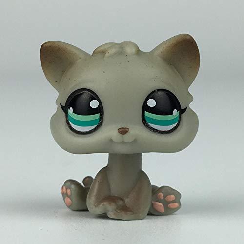 JiYanTang Pet Shop Toys LPS Cat Custom-Made Baby Kitten Puppy for Pet Shop Toy Short Hair Cat Dog Collie Great Dane Spaniel Dachshund 391S
