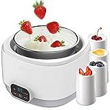 STRAW Yogur de la máquina - Inicio automático Mini Taza de cerámica de Natto Vino de arroz Fermentación máquina de Yogurt Máquina
