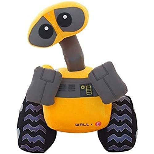 qwermz Juguete De Peluche Suave, 25 Cm De Dibujos Animados Wall-e Robot Peluche De Juguete Walle Muñeca Suave Rellena Niños Niños Juguetes para Niños Regalos De Cumpleaños
