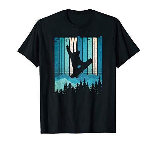 Vintage Snowboard - Snowboarder Gift Snow Sports T-Shirt