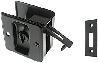 matte black pocket door hardware