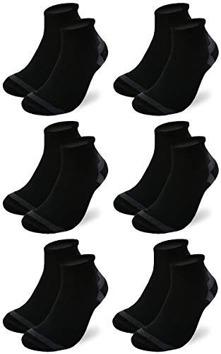 3-9 paires de chaussettes de sport respirantes à séchage rapide COOLMAX® pour homme et femme