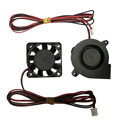 3D Printer Fan Blower Fan DC 12V 40x40x10 50x50x15 Extruder Cooling 1M for Anet a8 Eewolf