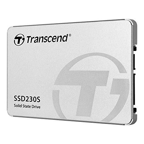 """Transcend 256GB SATA III 6Gb/s interne 2.5"""" SSD (HDD) für Aufrüstung von Desktop-PCs, Laptops, Notebooks und Spielekonsolen TS256GSSD230S"""