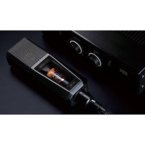 Lewitt LCT940 - Micrófono de estudio estatico (híbrido, multidireccional, diafragma largo), color negro