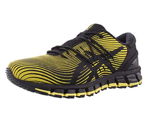 Asics Gel-Quantum 360 4 - Zapatillas de correr para hombre, Amarillo (Negro/Tai-chi Amarillo), 42.5 EU